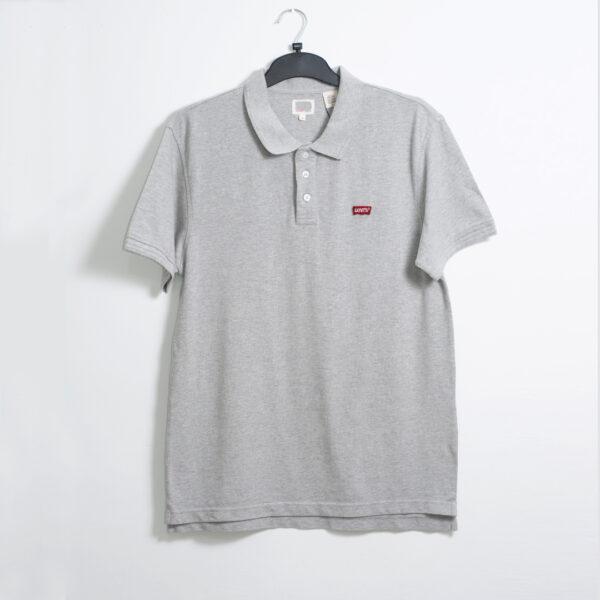 Grey Polo shirt men