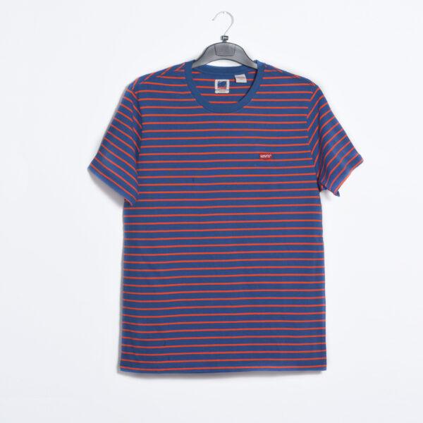 Red & blue stripes t-shirt